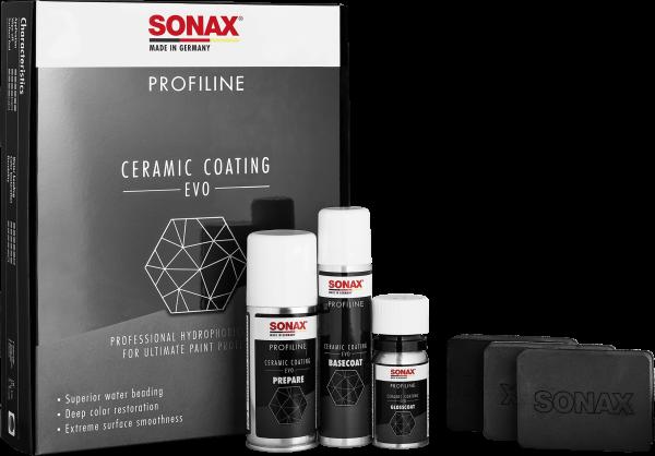 SONAX PROFILINE Ceramic Coating CC Evo Komplettset zur Lackversiegelung