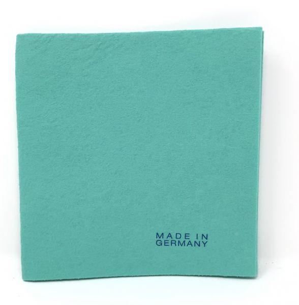 Mikrofaser-Vlies Tuch grün 38x 38 cm