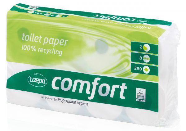 Großpackung WEPA Comfort Toilettenpapier